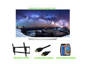 LG 55EF9500 55' Black UHD 4K OLED 3D Smart HDTV With WebOS 2.0  Bundle