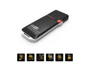Wavlink  USB Wireless N300 Adapter  IEEE 802.11a/b/g/n USB 2.0/1.1 300Mbps WIFI Adapter Bual Band 2.4G & 5G WPS - Support Windows XP/7/Linux/Mac OS X Wi-fi USB 2.0 Network LAN Card Dongle CE FCC ROHS