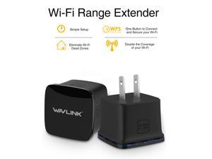 Wavlink Update N300 Wi-Fi Range Extender Wireless Repeater Boosts your existing Wi-Fi coverage to deliver fast and reliable wired and wireless connectivity