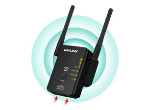 Wavlink Smart 300Mbps Wireless Range Extender/ Access Point / Router N300 Wi-Fi Signal Booster with 2 External Antennas support WPS IEEE 802.11a/b/g/n Provide 2x 10/100Mbps Ethernet WAN/LAN ports