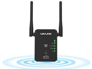 Wavlink Wifi Range Extender/ Access Point / Router / Repeater N300 Wi-Fi Signal Booster with 2 External Antennas support WPS IEEE 802.11a/b/g/n Provide 2x 10/100Mbps Ethernet WAN/LAN ports
