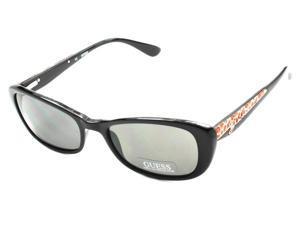 Guess Women's Designer Sunglasses GU 7210 BLK-3