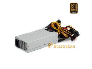 "Solid Gear FLEX / Mini ITX 400 Watt 80 Plus Bronze Power Supply, for 1U, FLEX ATX w/ 2 x PCIE 6+2 Connector. 40mm fan, Dimension: 6""x3.2""x1.5"""