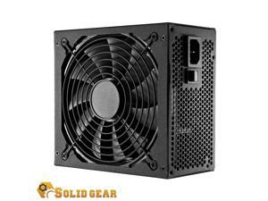 Solid Gear SDGR-450BR 80 Plus Bronze Power Supply - 120mm Nano Ball Bearing Fan, Silent Cooling, Rich Amp Single +12V Rail
