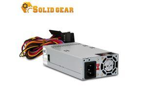 "Solid Gear FLEX / Mini ITX 220 Watt Power Supply (SDGR-FLEX220) High efficiency Switching Technology,  40mm Ball-Bearing Fan. Dimension 6""x3.2""x1.5"""