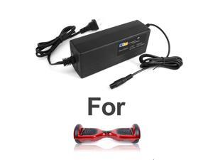 Coming Data 42V 2A Lithium Battery Charger w/3-Prong Inline Female Connector (UL Certified), for Self Balancing Scooter, Hoverboard, 2 Wheels Balace scooter, Swagway, PowerBoard and Nimbus