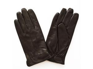 Glove.ly Women's Leather Touch Screen Glove, Extra Small, Brown