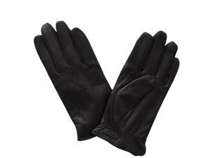 Glove.ly Women's Leather Touch Screen Glove, Extra Large, Black