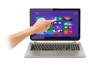 Toshiba S55T 15.6-Inch Touchscreen Laptop  / 15.6 in 720P Touschscreen Display / i7-4710HQ / 12GB / 1TB / No Optical Drive / HDMI / WiFi / Webcam / Bluetooth / Windows 8.1 64-bit / Santin Gold