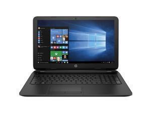 "HP 15.6"" Laptop / AMD Quad-core A6-5200 APU with Radeon(TM) HD 8440 Graphics / 4GB Memory / 500GB Hard Drive / DVD RW / WiFi / Webcam / HDMI / Windows 10 / Black"
