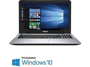 "2016 Newest ASUS 15.6"" 1920 x 1080 Full HD LED Flagship Premium High Performance Laptop, Intel Core i7-5500U 2.4GHz, 8GB RAM, 1TB HDD, DVD-SuperMulti Drive, HDMI, VGA, Webcam, WIFI, Windows 10, Black"