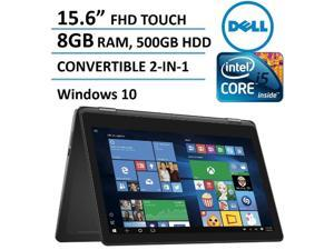 2016 Newest Dell Inspiron 15 7000 Series 2-in-1 Convertible Laptop / Tablet, 15.6-inch Full HD Touchscreen (1920 x 1080), Intel Core i5-6200U, 8GB DDR3L, 500GB HDD, HDMI, Backlit Keyboard, Windows 10