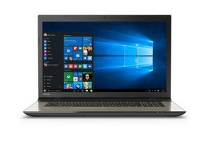 "2016 Newest Toshiba Satellite L75 17.3"" Flagship High Performance Laptop, Intel Core i5-6200U Processor, 8GB RAM, 1TB HDD, DVD+/-RW, Webcam, WIFI, HDMI, Windows 10"