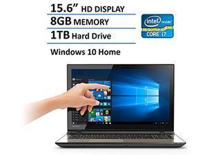 "2016 Newest Toshiba Satellite Flagship 15.6"" Laptop, Intel Core i7-6500U Processor, 8GB RAM, 1TB Hard Drive, HD LED Backlit TOUCH Display, DVD Super Multi, Webcam, HDMI, Bluetooth, Windows 10"