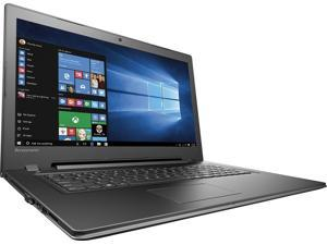 "2016 Newest Lenovo 17.3"" Widescreen 1600x900 Laptop, Intel 6th Generation Core i3 (2.3 GHz), 4GB RAM, 500GB HDD, Wireless-AC, Bluetooth 4.0, HDMI, Webcam, Media Reader, Windows 10"