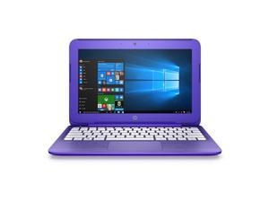 HP Stream 11.6-Inch Laptop (Intel Celeron, 2 GB RAM, 32 GB SSD, Violet Purple) with Office 365 Personal for One Year