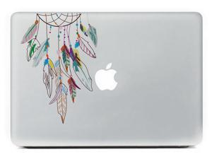 Color Feather Laptop Protective Sticker Skin Vinyl Decal For Apple Macbook Air & Pro Laptop & Tablet & Wall & Car & Motorcycle -15 Inch