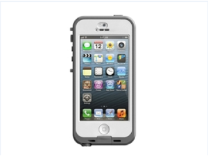 Lifeproof iPhone 5/5s - Nuud Series - White/Clear 77-30570