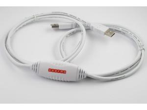 Windows 7 Driverless USB 2.0 Data Transfer Cable - Easy File Transfer with Drag and Drop