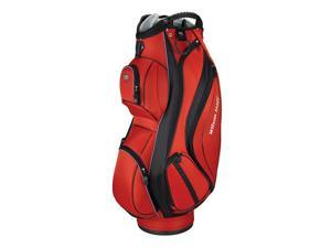 Wilson WGB3403RD Staff Cart Plus Golf Bag, RED
