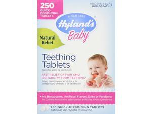 Hyland's Homeopathic Baby Natural Relief Teething Tablets - 250 Tablets, 8 Pack