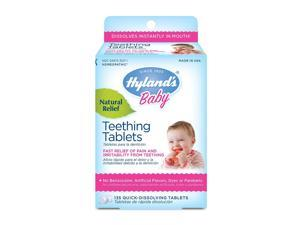 Hyland's Homeopathic Baby Natural Relief Teething Tablets - 135 Tablets, 8 Pack