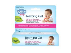 Hyland's Homeopathic Baby Natural Relief Teething Gel - 0.5 Ounce, 8 Pack