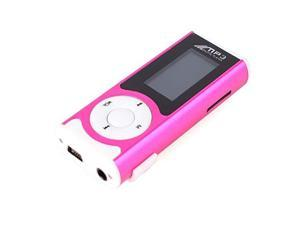 Mini MP3 Music USB Player with Clip LED Light Support 1 - 16GB Micro SD TF