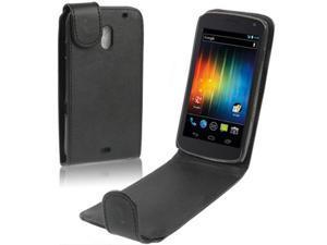 Leather Case for Samsung Galaxy Nexus / i9250 / Nexus Prime
