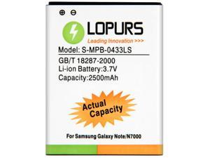 2500mAh Replacement Battery for Samsung Galaxy Note / N7000