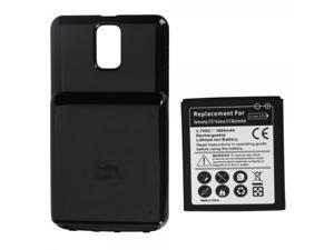 3800mAh Extended Battery with Black Cover for Samsung Galaxy S II S2 Skyrocket SGH-i727