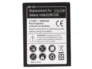 New 3500mAh Replacement Battery for Samsung Galaxy Note 2 II N7100 GT-N7100