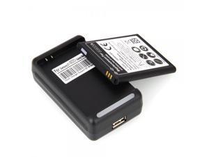 2600mAh Battery + USB Cradle Charger for Samsung Galaxy NOTE i9220 / N7000