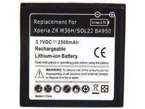 2500mAh BA950 Battery for Sony Xperia ZR M36H / SOL22