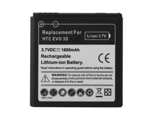 1800mAh Battery for HTC EVO 3D / Sensation XL / G14 / X515m / G17 Sensation XE Z715e / G18