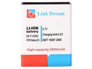 Link Dream High Quality 2500mAh Replacement Battery for Samsung Galaxy SII T-Mobile T-989 (EB-F12GBU), With Bluetooth