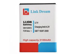 Link Dream High Quality 3100mAh Replacement Battery for Samsung Galaxy Note II / N7000 / i9220 / i717 / T879 (EB615268VU)