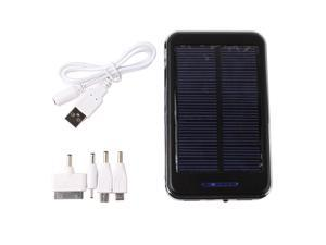 48000mAh Dual USB Solar Power Panel External Battery Charger Bank for Samsung