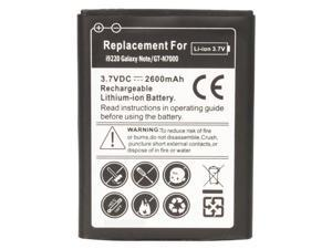 2600mAh Li-ion 3.7V Replacement Battery For Samsung Galaxy Note I9220 GT-N7000