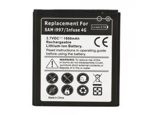 1800mAh Li-ion Battery for Samsung Infuse SGH-i997 4G