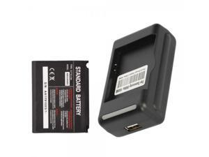 1000mAh Battery and Battery Dock Charger for Samsung Google Nexus S I9020
