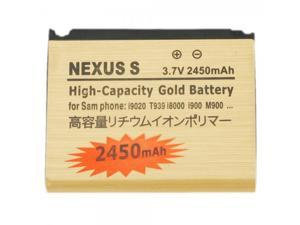 2450mAh Gold Battery for Samsung Nexus S i9020/T939/I8000/I900/M9001