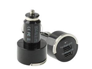 3.1A Dual USB Car Charger for iPad / iPhone 4 & 4S / 3GS / iPod / PDA / PS Vita / Samsung Galaxy Tab
