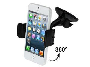Universal Car Holder for iPhone 5 & 5S / 4 & 4S / Samsung / HTC / Other Mobile Phones, Support 360 Degree Rotation