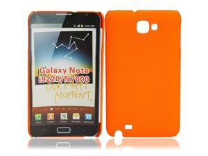 Concave Dots Hard Case Cover for Samsung Galaxy I9220/N7000 Orange