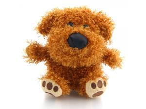 Cute Talking Recording Plush Dog Toy Multicolor