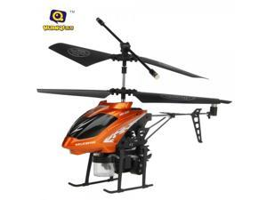 HQ 870 3.5 Channel Infrared Remote Control RC Helicopter with Gyro Orange