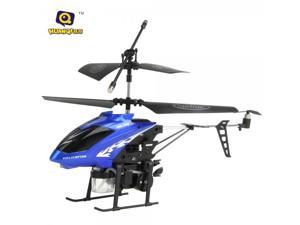 HQ 870 3.5 Channel Infrared Remote Control RC Helicopter with Gyro Blue