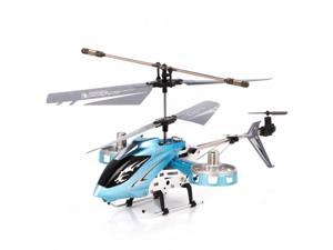 DFD F103 Avatar 4 Channel LED Infrared Remote Control RC Helicopter with Gyro Blue
