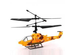 JFH S4-1 4 Channel 2.4GHz Remote Control RC Helicopter Yellow